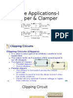 Diode Applications-I