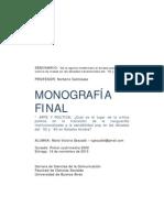 Gesualdi_MariaVictoriaMONOGRAFIAArte y Politica