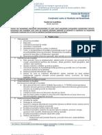 Studiu de ate Pentru Modernizarea Infrastructurii de Transport Model Fonduri Structurale
