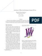 Accessible Conformations of Bacteriorhodopsin during 0.05 ns