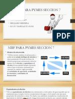 NIIF PARA PYMES SECCION 7 CONTABILIDAD IV