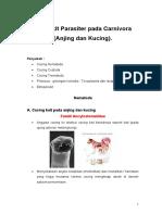 Kuliah Penyakit Parasit Karnivora