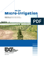 Introduction to Micro Irrigation
