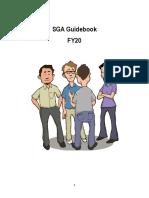 SGA Guidebook FY20