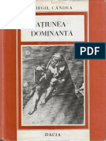 Ratiunea Dominanta.virgil Candea.1979