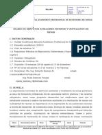 SILABO DE SERVICIOS AUXILIARES MINEROS