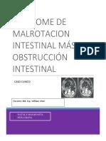 SINDROME MALROTACION INTESTINAL MAS OBSTRUCCION