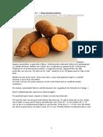 Batat-cartof dulce-cultura
