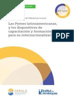 Las pymes latam y los dispositivos de capacitación y formación para su internaionalización_EU-LAC