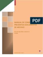 Manual de Conservacion archivos