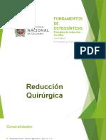 FUNDAMENTOS DE OSTEOSÍNTESIS