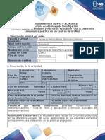 Guía para el desarrollo del componente práctico - Fase 5 - Desarrollo Componente práctico en los Centros de la UNAD