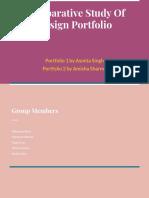 Comparetive Study Of Portfolio (2)