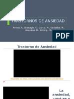 Diapositivas Definición y Clasificación ANSIEDAD