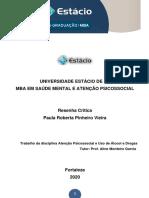 RESENHA CRÍTICA - CASO FLORES