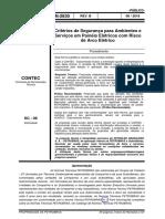 N-2830 Critérios de Segurança para Ambientes e Serviços em Painéis Elétricos com Risco de Arco Elétrico