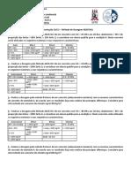 Exercícios de dosagem - Lista 01 - Antonio - 2015