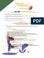 GUÍA DE ACTIVIDADES IMPROVISACIÓN Y FLEXIBILIDAD