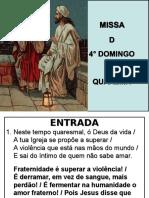 Misisa do 4° Domingo da Quaresma - Cópia.ppt