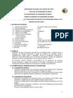 Silabo Formulacion y Evaluacion de Proyectos - Reformulado