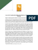 Consideración Jurídica de la Infancia en Chile en el período 1990/2005