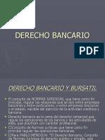 INTRODUCCIÓN DERECHO BANCARIO