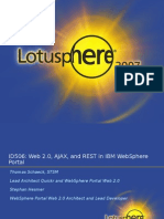 Web 20 AJAX and REST in WebSphere