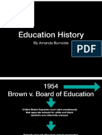 portfolio project 8  education history timeline