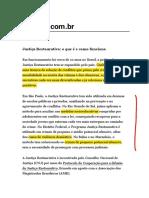 Justiça Restaurativa_CNJ_2014