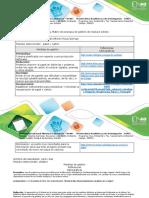 Anexos - Guía de actividades y rúbrica