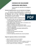 REGRAS DE SEGURANÇA PARA O USO DO LABORATORIO DE SOLDAGEM.pdf