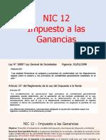 NIC 12 - IMPUESTO A LAS GANANCIAS.pptx