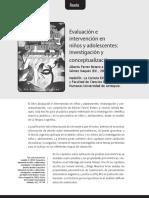 (Arículo) EVALUACIÓN E INTERVENCIÓN EN NIÑOS Y ADOLESCENTES.pdf