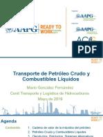 Transporte de petróleo crudo y combustibles líquidos vf