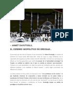 TURQUIA, Y SUS CLAVES GEOPOLÍTICAS (6 de 6) -  LAS CUESTIONES CANDENTES DE TURQUIA