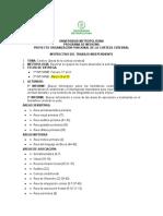 INSTRUCTIVO TRABAJO INDEPENDIENTE ANATOMIA II
