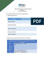 Lineamientos Entega Final Psicologia Cognitiva 2020-1