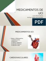 MEDICAMENTOS DE UCI