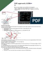 Perform an approach (A320)