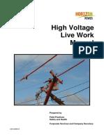 High Voltage Live-line Manual