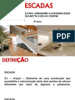 Aula 05 - Arquitetura - Escada