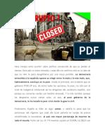"""EXABRUPTO 1 """"SOMOS LÍDERES MUNDIALES EN MORTANDAD"""""""