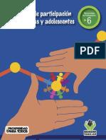 Herramientas de participación No. 6 Indicadores de participación de NNA (2014)