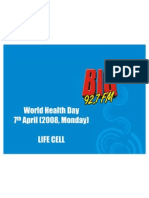 World Health Day - Life Cell