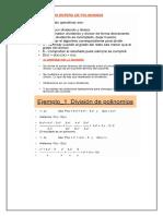 retroalimentacion division de polinomos