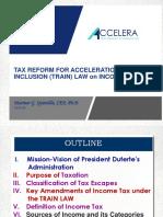 TRAIN LAW- Income Tax