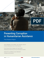 Preventing Corruption in Humanitarian Assistance