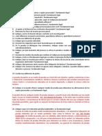 Respuestas Cuestionario Procesal Penal UMG