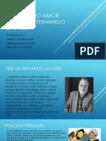 Ética como amor propio de Fernando savater