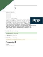 Evaluaciónes Business Plan